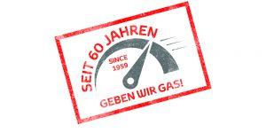 Seit 60 Jahren geben wir Gas