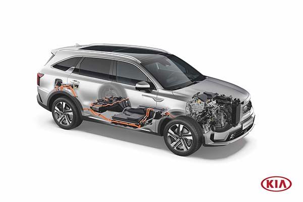 Kia Sorento Plug-in Hybrid Innenraum