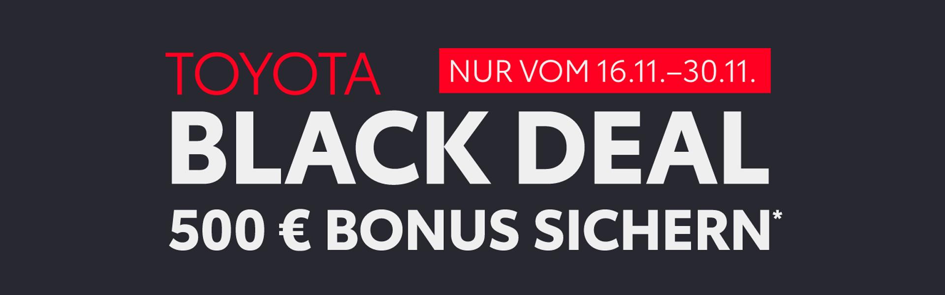 Toyota Black Deal