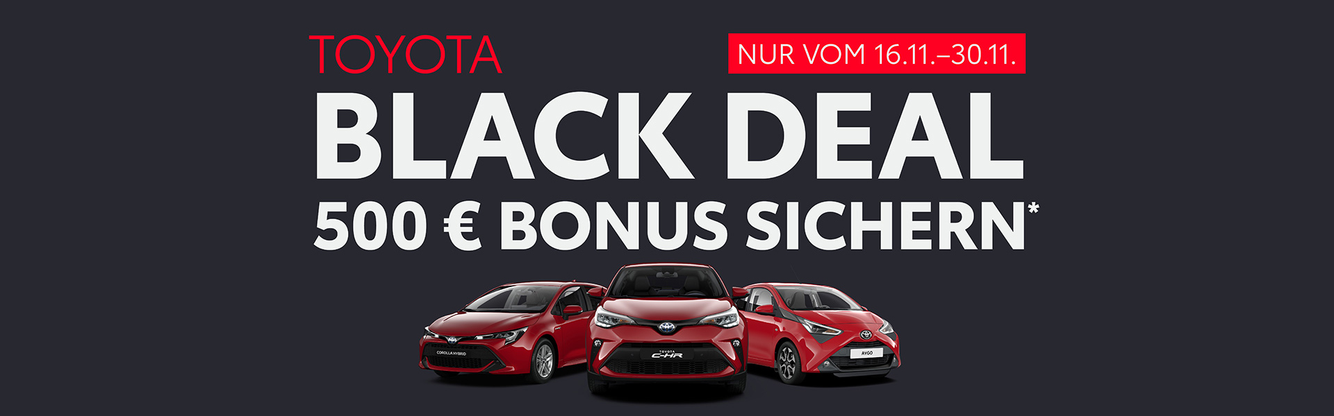 Toyota Black Deal
